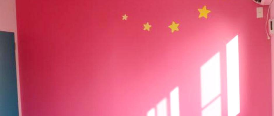 自分のお部屋は大好きな色で。イメージ01